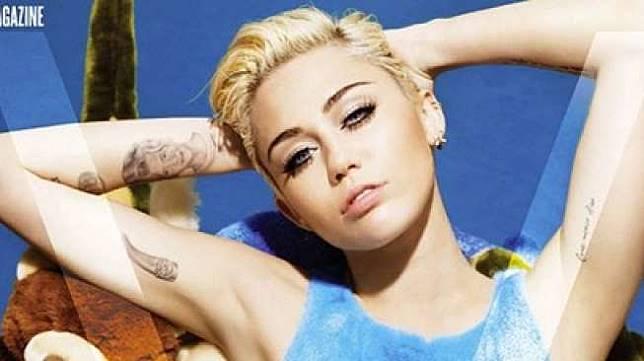 Miley Cyrus. (VMagazine/Mirror)