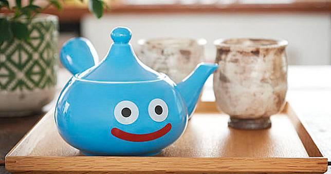 超可愛史萊姆茶壺五月開賣,會泡出藍色的茶嗎?