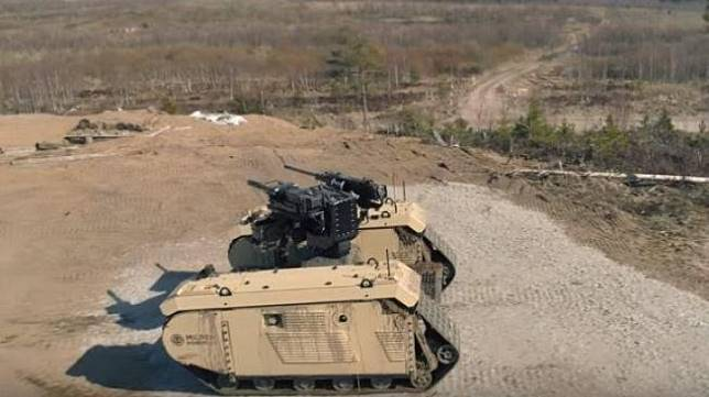 Canggih Tapi Menyeramkan, Inilah Robot Tank Baru yang Mirip Terminator