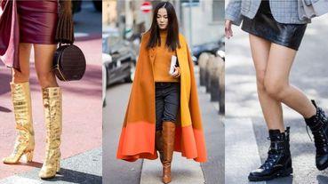 2019秋冬4大靴款禁忌!拜託別再穿這4種靴子,一次看懂本季靴款流行元素!