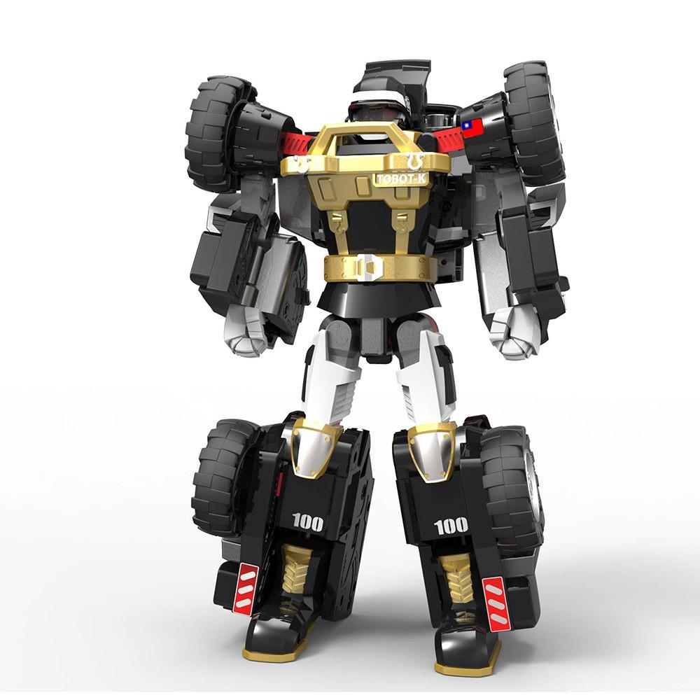 變身型機器戰士TOBOT是機器人也是越野車和機器戰士們一起保護城市吧!商品尺寸(CM):約34×34×13品牌國別:韓國產地:中國主材質:塑膠內容物:本體 、道具配件使用電池:需四號電池*2適用年齡: