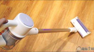 睿米 Z1 掃拖抗菌無線吸塵器開箱動手玩:掃拖合一設計、國際認證 99.9% 抗菌技術,租屋必備清潔利器!