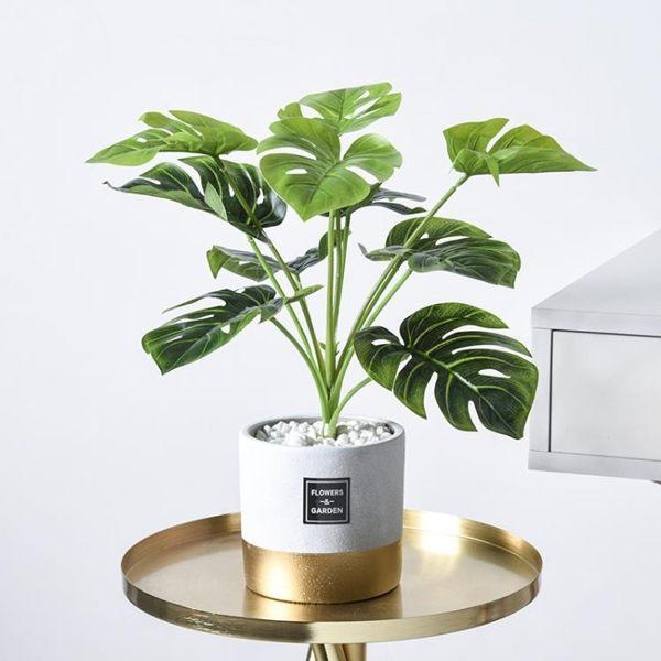 全館83折 北歐ins創意仿真植物裝飾小盆栽客廳擺件家居擺設室內綠植假盆景