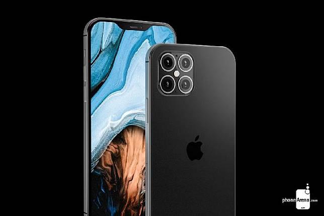Bocoran desain iPhone 12. Kredit: Phone Arena