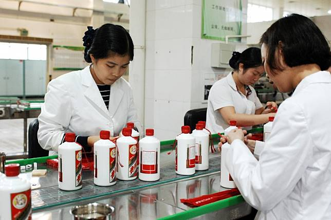 Kweichow Moutai, world's most valuable liquor maker, feels impact of China's slowing economy, but analysts remain bullish