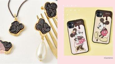 米奇巧克力磚手機殼甜到融化,日牌迪士尼聯名「米奇&米妮超美飾品」!CP耳環超浪漫