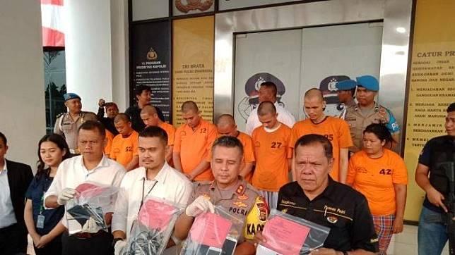 Pelaku aplikasi tuyul ojek online diringkus di Tangerang Selatan