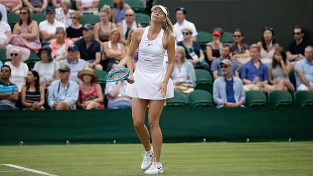 Petenis Cantik Rusia Maria Sharapova Tersingkir di Wimbledon 2019