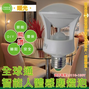 ◆採用最新技術、感應穩定,保護視力 ◆延時60秒自動滅燈,無須作任何調節動作 ◆安裝方便,無須另接開關,只需E27燈座就可使用