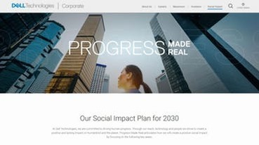 Dell:2030 進步成真,75% 能源來自綠能!