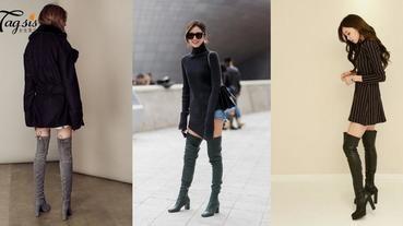 冬天一定要來一雙!矮小女生也能駕馭的靴子款式~只要掌握4大重點,輕鬆修飾身材比例!