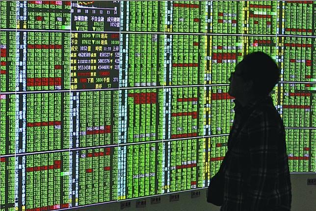 國際股市連番重挫,台股下周一開盤恐不妙。資料照片