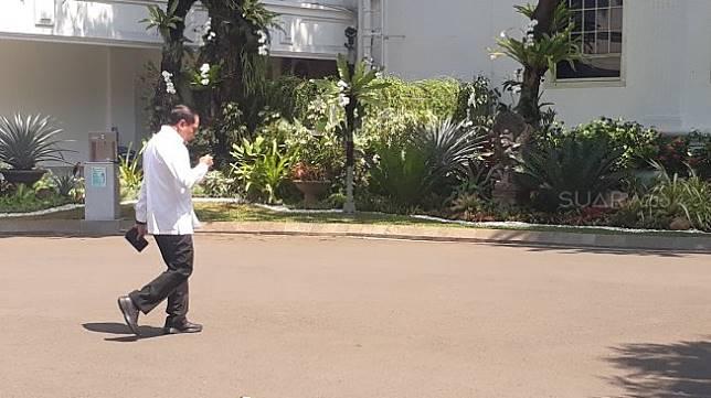 Mantan ketua Himpungan Pengusaha Muda Indonesia ( HIPMI), Bahlil Lahadalia. (Suara.com/Ummi Saleh)