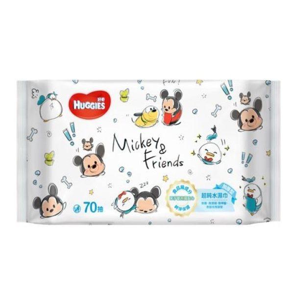 好奇純水嬰兒濕巾(迪士尼限定版)加厚型