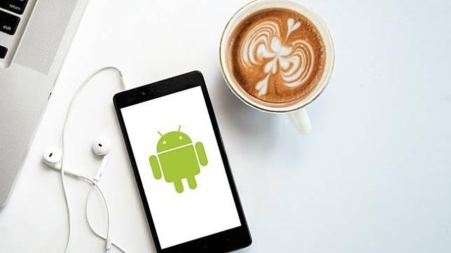 Ilustrasi ponsel Android. [Shutterstock]