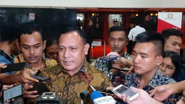 Ketua KPK, Firli Bahuri. (Foto: iNews.id/Felldy Utama)