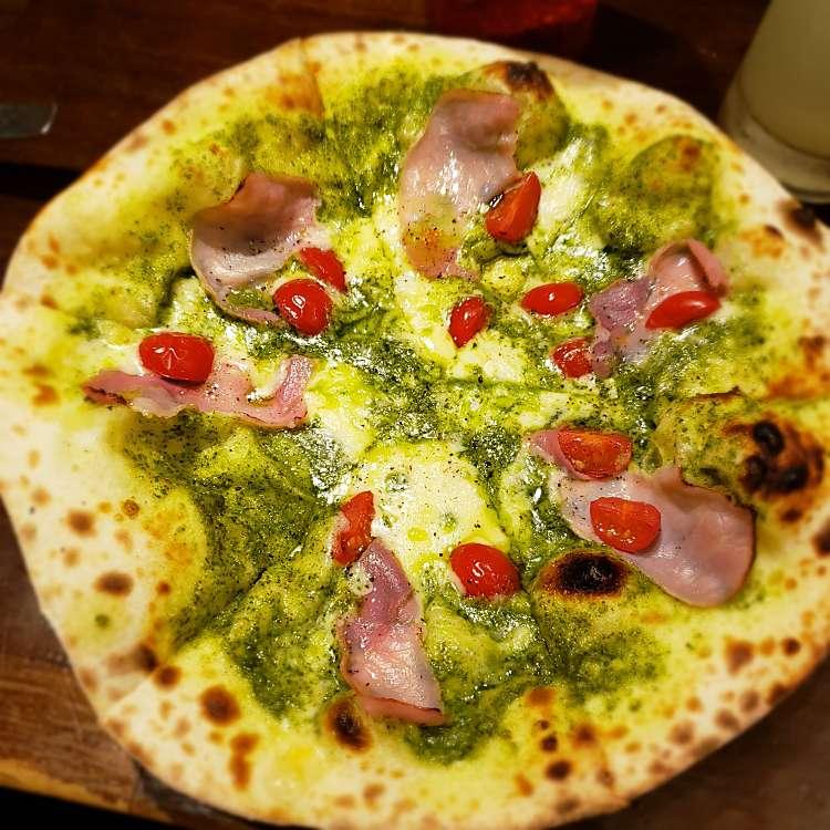 新宿区周辺で多くのユーザーに人気が高いピザnicoのジェノベーゼの写真