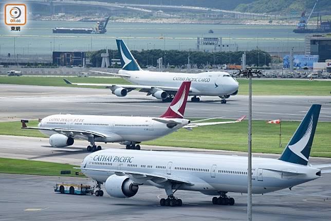 涉事乘客先由武漢乘搭國泰港龍航班抵港,再轉乘國泰航班往洛杉磯。