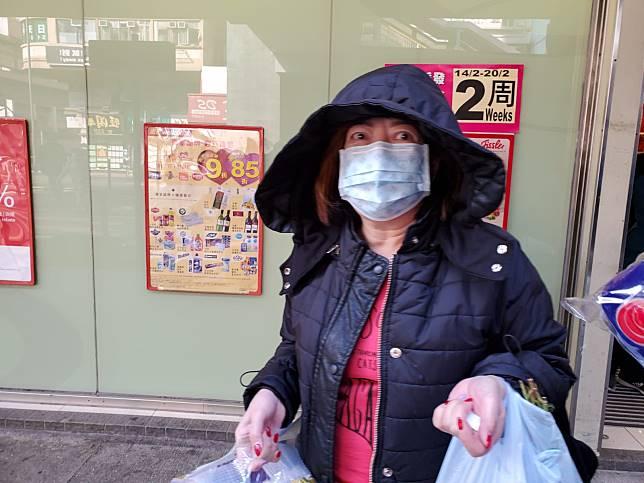 市民謝小姐說,不明白為何要打劫廁紙。