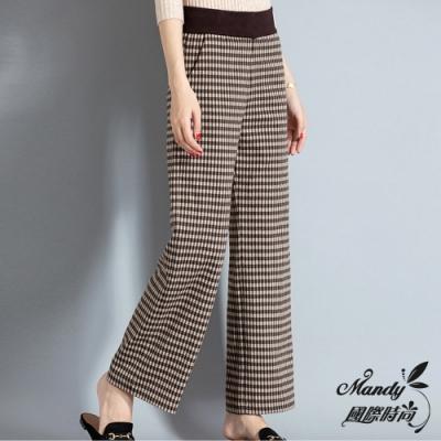 風格 OL 款式 闊腿褲 褲型 直筒型 腰型 高腰 流行元素 褶皺,水洗