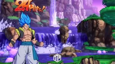 Gogeta超級賽亞人藍型態將加入《Dragon Ball FighterZ》中!