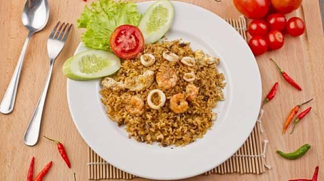 Ilustrasi nasi goreng. (Shutterstock)