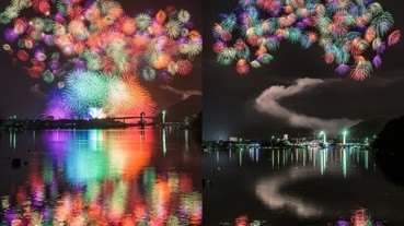 一發入魂!沒用合成和多重曝光 日本攝影師拍出絕美的煙火大會