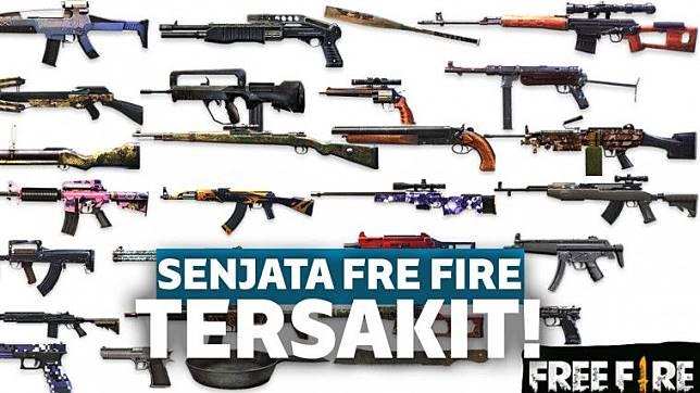 55 Gambar Senjata Senjata Ff Terbaik Riwayat Gallery