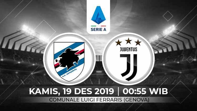 Link Live Streaming Pertandingan Liga Italia Sampdoria Vs Juventus Indosport Com Line Today