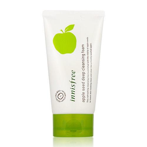 韓國 Innisfree 蘋果籽清透深層潔面乳 150ml 洗面乳【新高橋藥妝】