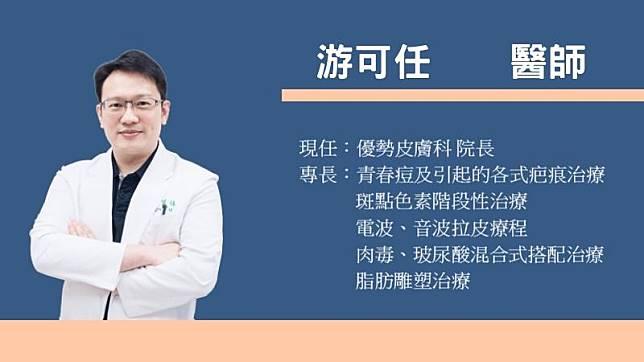 優勢皮膚科診所院長游可任醫師簡介
