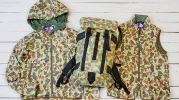 The North Face Purple Label Camouflage Series 2010 秋冬系列