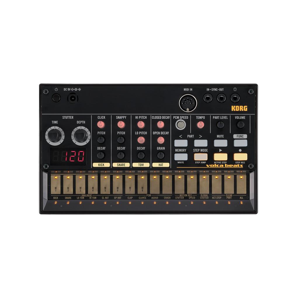 click等)增加PCM 音色讓Volca Beats 適合更多曲風Electribe 式編曲器Loop 步驟編曲器可錄下你演奏的樂句步驟錄音可用來輸入或修改錄好的節奏Active Step 可開關或