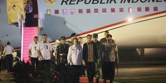 Jokowi di Riau. ©2019 Humas Pemprov Riau