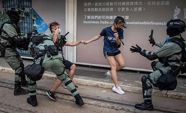 Hong Kong protests have changed city's dating rules with many finding yellow and blue do not match