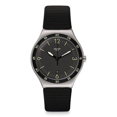 Swatch官方旗艦店瑞士製造 人氣熱銷款,摩登現代感十足 金屬不銹鋼材質,質感瞬間加分 型號:YWS454