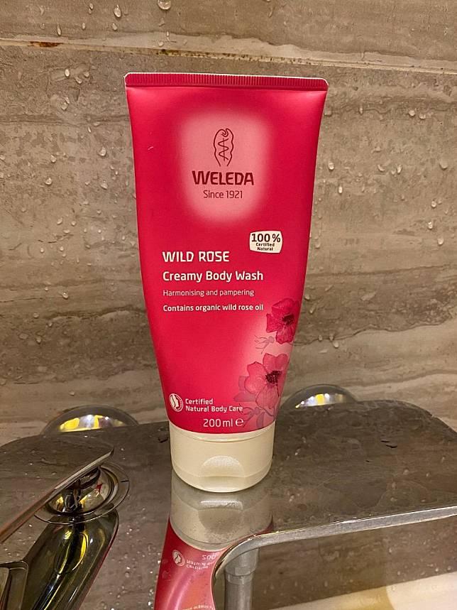 平時喜歡用Weleda Wild Rose Creamy Body Wash,不過如果敏感來襲,任何香味即使是有機產品都要狠狠斷絕。(Mon提供)