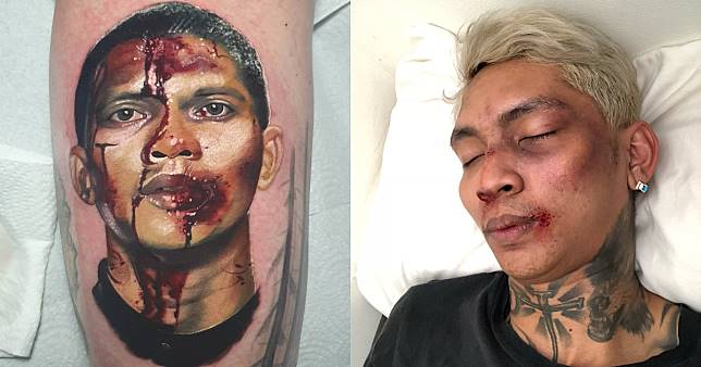 Viral: Scottish woman gets tattoo of Iko Uwais' bloodied face, Indonesian netizens say it looks like rapper Young Lex