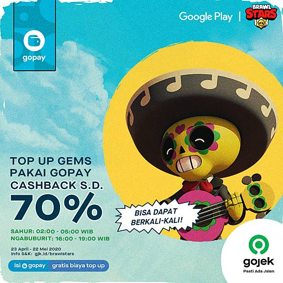 Gopay Promo Supercell Di Google Play Mei 2020 Cashback Hingga 100 Line Game Line Today