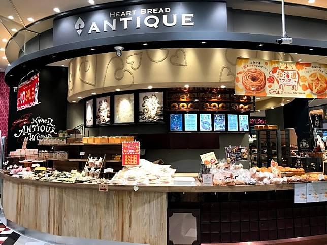 新店設於阿倍野Q's Mall地下一樓,佔據Heart Bread ANTIQUE麵包店的一部分店面。(互聯網)