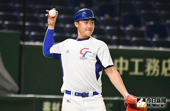 ▲世界棒球12強,中華隊捕手高宇杰。(圖/記者葉政勳攝