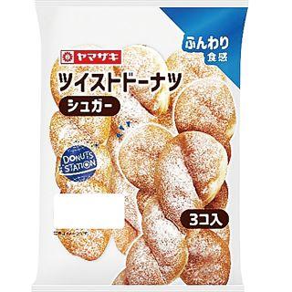 ヤマザキ ツイストド-ナツ(シュガ-)