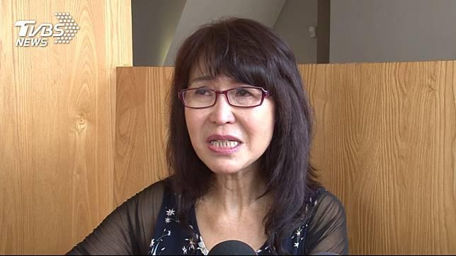 曾是資深民進黨員的潘金英,去年高雄市長選舉時改挺韓國瑜。(圖/TVBS)
