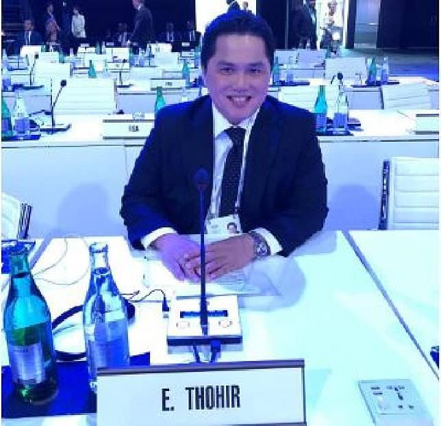 Erick Thohir terpilih sebagai anggota baru IOC Members dalam sidang sidang IOC ke-134 di Laussane, Swiss, 24-26 Juni, (foto: istimewa)