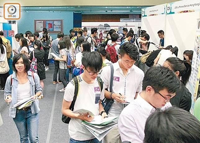 勞工處本周四舉辦青年招聘日。