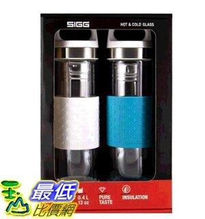 [COSCO代購] W124758 Sigg 雙層玻璃水瓶兩件組 單個容量:400毫升
