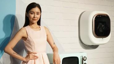 迷你壁掛式洗衣機登台,韓系家電大宇推出 3 公斤滾筒洗衣機
