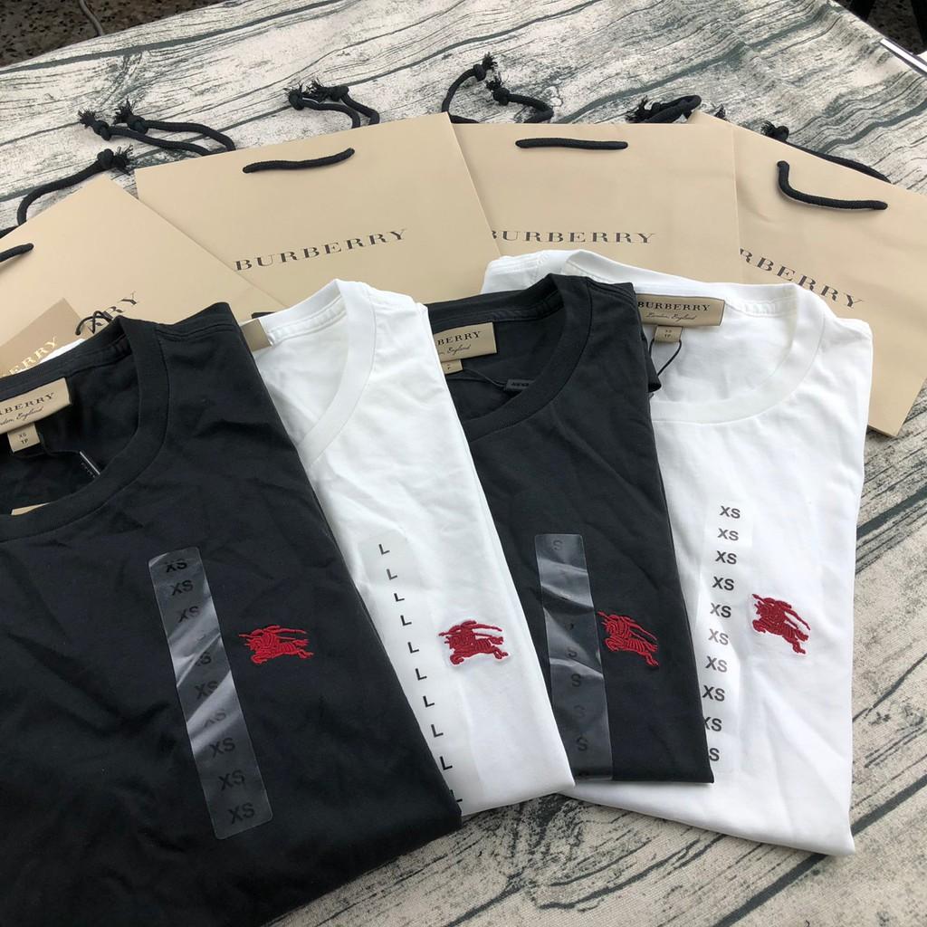 Burberry 戰馬 巴寶莉 短袖 刺繡 經典LOGO 素t T恤 上衣 正品 英國代購 現貨 白色 黑色 新款