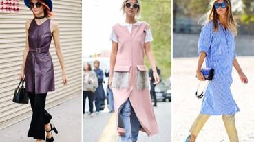 今年最夯穿搭!「裙子+褲子」讓妳成為街頭時尚指標