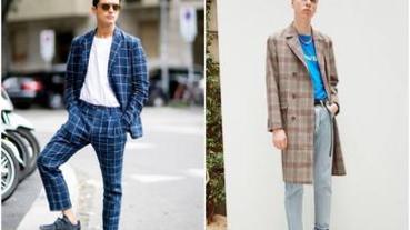 換季外套就是「它」!3款「格紋外套」一秒穿出低調質男品味